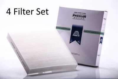 Set of 4 New Premium Guard Cabin Air Filters fits 03-18 Honda 07-18 Acura