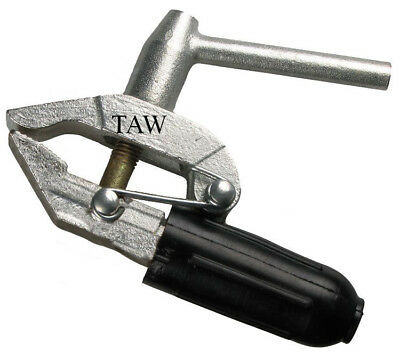 600 Amp Screw Type Heavy Duty Earth Clamp x 1, 2 or 3