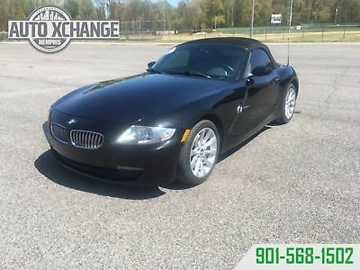BMW Z4 convertible leather clean 2007 z4 convertible leather clean