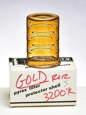 BALCAR PYREX SHELL AMBER 3200K  for Short flash tube shows no cracks or wear
