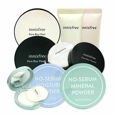 [Innisfree] No Sebum Mineral ( Powder / Pact / Primer ) Korean Cosmetics