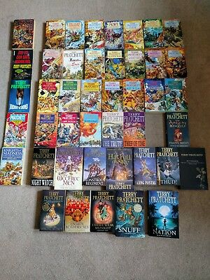 Huge 44 Terry Pratchett Discworld Paperback Book Collection Job Lot