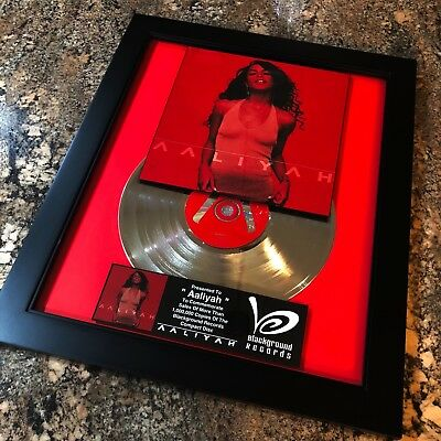 Aaliyah Platinum Disc Record Album Music Award MTV Grammy R&B Jay Z Beyonce RIAA