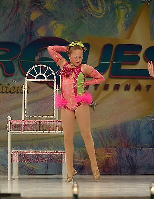 Custom large child small adult Mikelle brand dance costume jazz musical theater