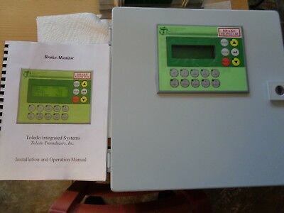 Toledo Press Brake Monitor 4Pp015-0420-K04 Rev D0, Pos:270  Spm, Parts 322- New