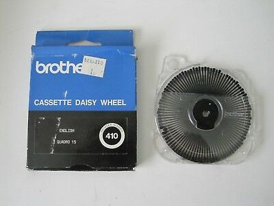 Brother Brougham 10-Pitch Cassette Daisywheel Brother word processors. Org owner