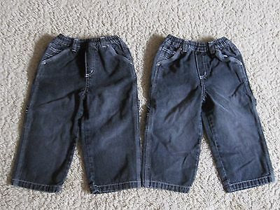 Lot Of 2 (36 Months) 36M Boys The Children's Place Carpenter Style Jeans