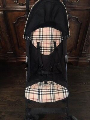Authentic Maclaren Burberry Stroller. Special Edition Clean