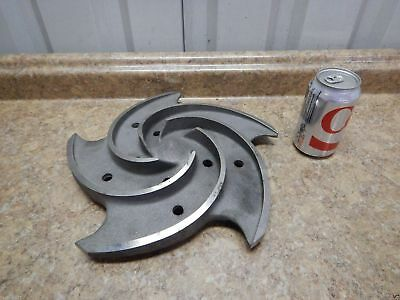 "NEW Goulds Pump Impeller 13"" Diameter 5 Vane 3196 LTX Process Pump Titanium NEW"