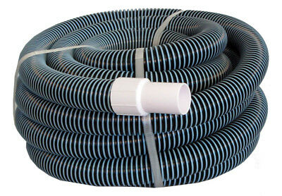 """Swimming Pool Commercial Grade Vacuum Hose 1.5"""" - 15' length with Swivel End"""