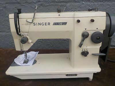 Industrial Sewing Machine Model Singer 20 U 73- zig zag