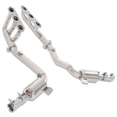 Stainless Steel Exhaust Manifold Downpipe Decat Porsche Boxster 986 2.5 2.7 3.2