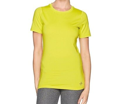 Tommie Copper Women's Core Short Sleeve Crew Shirt, Sulphur Spring, Small