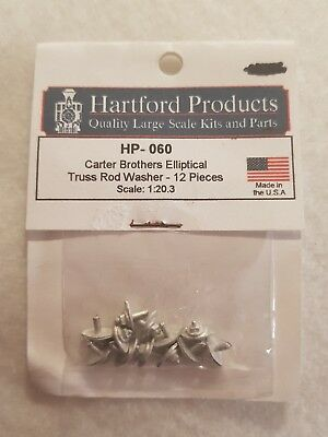 Hartford Products HP-060 Carter Brothers Elliptical Truss Rod Washer 12pc 1:20.3