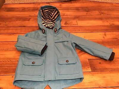 Boys Coat / Jacket, Age 18 – 24 Months, M&S, Blue with Navy Detail