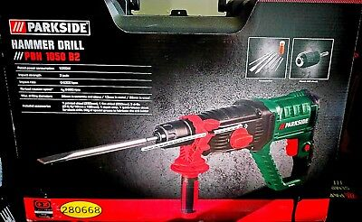 Hammer Drill. New! Germany! Parkside Pbh 1050 B2. New! Made In Germany