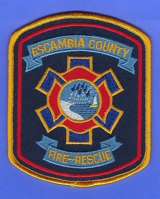 Escambia County Fire Rescue Department Patch Florida Nice Design Colors