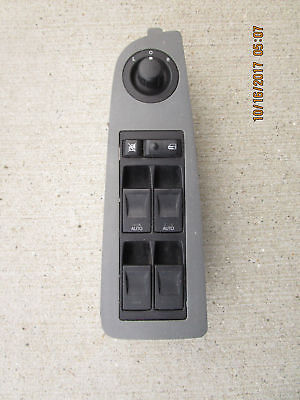 05 - 06 Chrysler 300C Front Driver Master Power Window Switch Gray 04602343Af