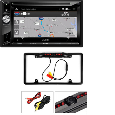 Active License Plate Rear View Reverse Camera For Jensen Vx4024 Always Buy Good Rear View Monitors/cams & Kits