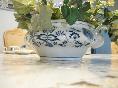 BLUE DANUBE china Onion Pattern Round Soup Tureen- bottom only AS IS