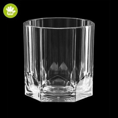 Unbreakable Polycarbonate Glassware Drinkware Whisky Glass