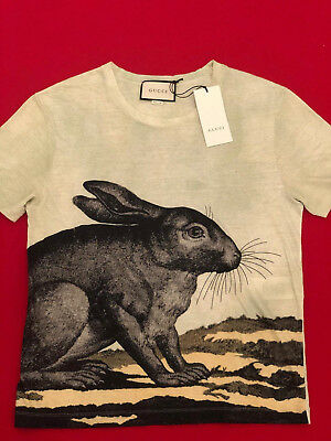 Gucci Green Rabbit T-Shirt