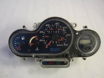 GENUINE YAMAHA JOG 50cc CLOCKS INSTRUMENT CLUSTER DASH 8262 KM 2003