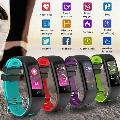 New Fitness Tracker Touch Screen with Heart Rate Monitor Waterproof Smart Watch