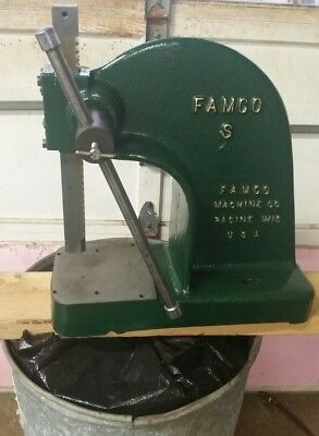 Famco No 3 Arbor Press, 3 Ton