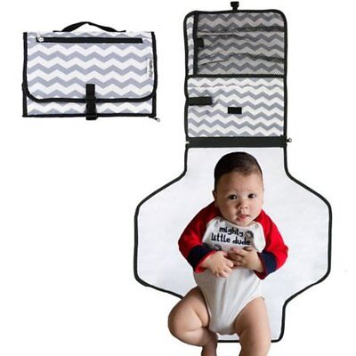 Portable, Baby Diaper Changing Pad - Newborn and Infant Change Mat