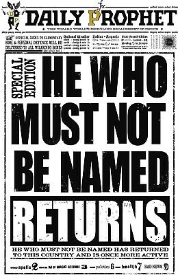 """Harry Potter / The Daily Prophet ( 11"""" x 17"""" ) Collector's Poster Print - B2G1F"""