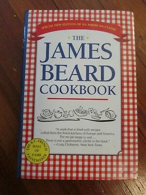 THE JAMES BEARD COOKBOOK - Hardcover,  FREE SHIPPING......