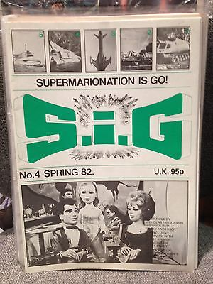 S i G  Supermarionation is Go magazine # 4 Gerry Anderson