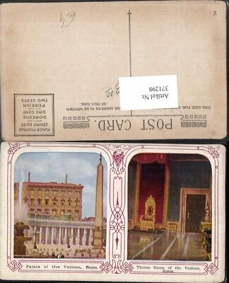 371298,Lazio Roma Rom Vatikan Palace of the Vatican Throne Room Thronsaal Brunne