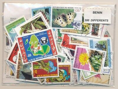 Benin US 300 stamps different
