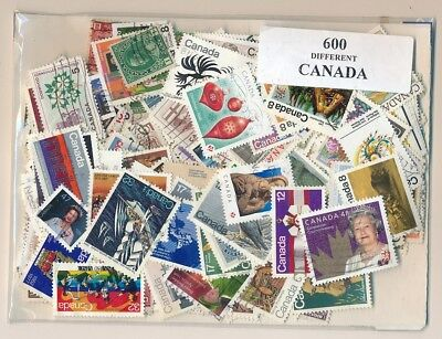 Canada US 600 stamps different