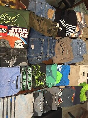 Lot Of Boys Clothes 32 Piece Sizes 10/12/14