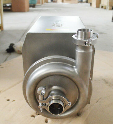 Final Sale! 110V/1.5kw 304 Stainless Steel Food Grade Centrifugal Pump 5Ton/h