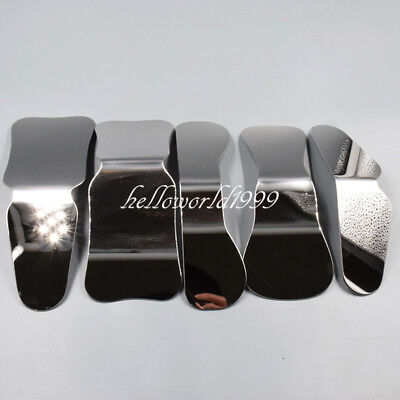5 Pcs Dental Orthodontic Intraoral Mirror Photographic Stainless Steel Reflector