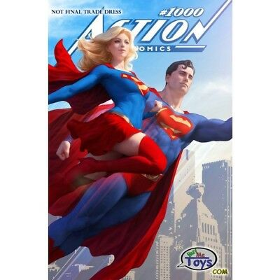 Action Comics #1000 Artgerm Variant Dc Comics Superman Supergirl Preorder