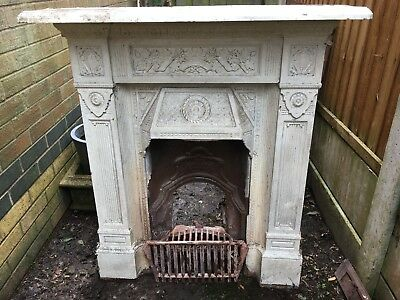 Scotia Cast Iron Victorian Fireplace