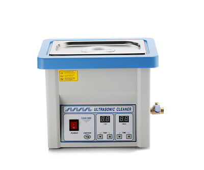 5L Stainless Steel Liter Industry Heated Ultrasonic Cleaner Heater w/Timer USA