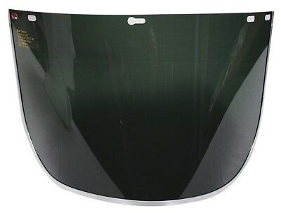 Blue Eagle FC48G5 Safety Face Shield Dark Green Polycarbonate Protective Visor