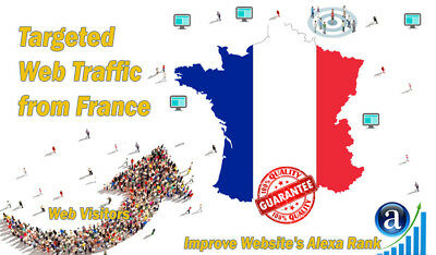 25000 French Visitors From France Real Targeted Traffic
