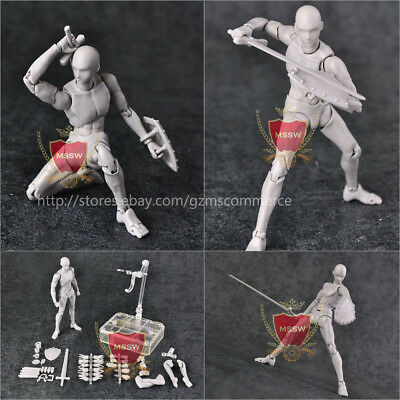 Figma S.H.Figuarts SHF Action Figure Body-KUN 2.0 DX SET Gray PVC Stand Holder