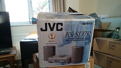 JVC FS-SD7R Compact Component System CD Player FM Radio