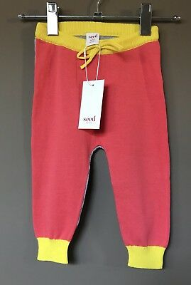 Seed Heritage Babygirl Knot Pants Size 12-18 Months RRP$44.95
