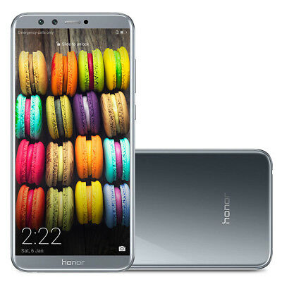 """Huawei Honor 9 Lite 5.65"""" 4G Smartphone Android 8.0 8-Core 32/3Go 2SIM 18:9 13MP"""