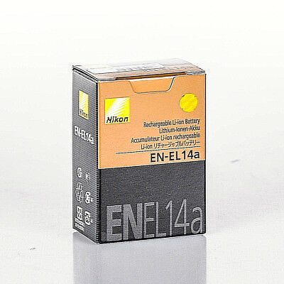 Genuine  Nikon EN-EL14a Battery for Charger MH-24DF D3300 D5200 D5100 OEM