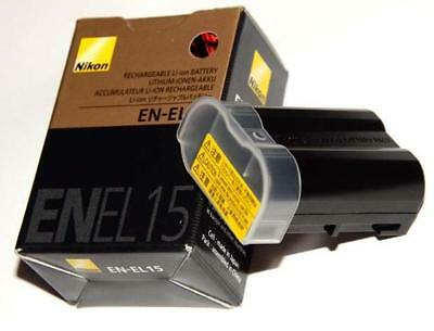 Genuine  Nikon EN-EL15 Battery for D7000 V1 MB-D12 MB-D11 MB-D15 MH-25 Original